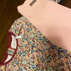 Matilda Jane sz 10 dress with leggings